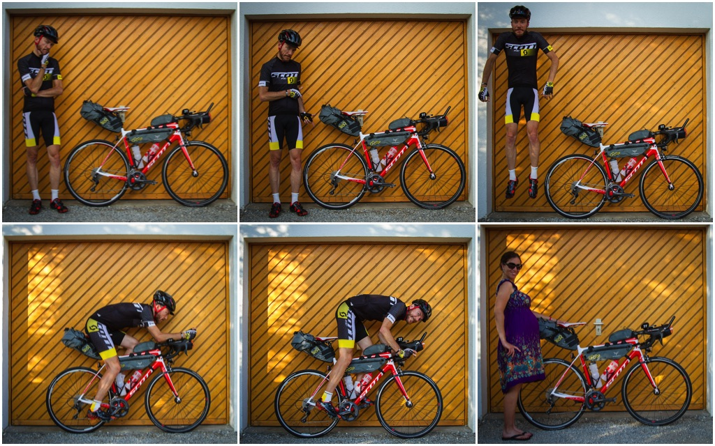 Transcontinental Race: Equipment set-up and other stuff to