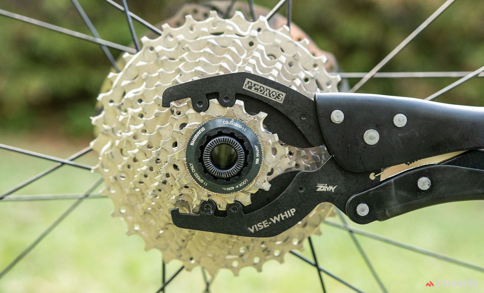 Shimano PRO Team Chain Whip Tool for 12 Speed Cassettes Sprocket Remover